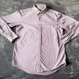 Brooks Brothers Men's Shirt Size 16-33 White Red